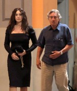 "Monica Bellucci on the set of �Manuale D�amore 3"" in Rome 10/5/10"