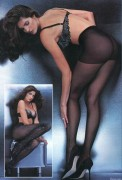 Stephanie Seymour - pantyhose ads (x4)