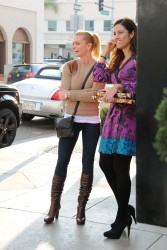 Джэйми Прессли, фото 1246. Jaime Pressly after lunch at La Scala in Beverly Hills, december 14, foto 1246