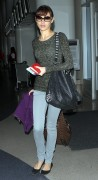 Olga Kurylenko at LAX Airport, 19 January, x10