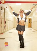 Jillian Hall: July 2008 WWE Magazine Spread (x2 Pics)